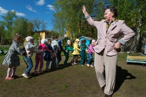 Tamara Ivanovna Yachmentseva, a patient in the Yaroslavl hypertension project