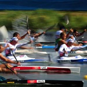 Olympic kayaking - a passion, but not a career