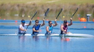 Australia's Mens K4 is aiming for a podium place at the Rio Olympic Games
