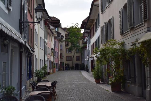 A Swiss street scene